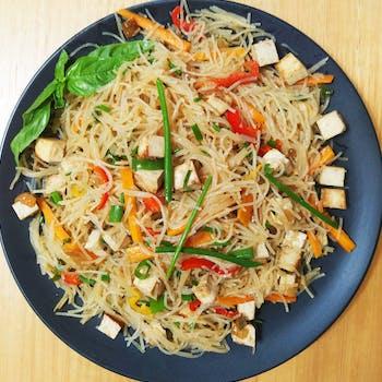 Asian Stir-fried Noodles
